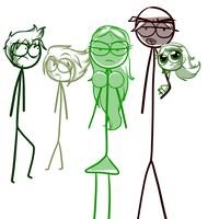 Family reunited  by Demonic-stickfigures