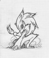 zoroark sketch by redelisa