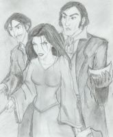 Bellatrix Rastaban + Rodolphus by Hillary-CW