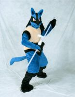 Lucario by ScratchKitty
