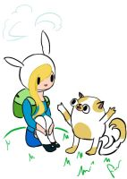 fionna and cake by fionnceline