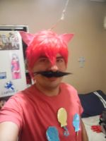 Bubble Berry Moustache Cosplay by brandonale