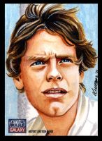 Luke Skywalker - SW Galaxy 7 by SSwanger