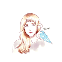 Red Velvet Ice Cream Cake Wendy Fan Art by velvetized