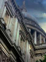 Storm Over St Paul's by RicksCafe