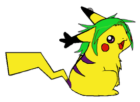 .:Pikachu:. by Sonyie