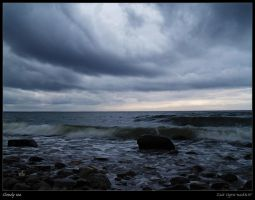 Cloudy sea by Zair-Ugru-nad