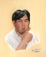 Another Self Portrait in Oils by chenbaiwan