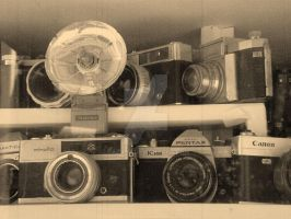 old cameras by pazush