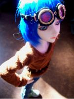 One of two blue Wigs by daughter-of-Isis