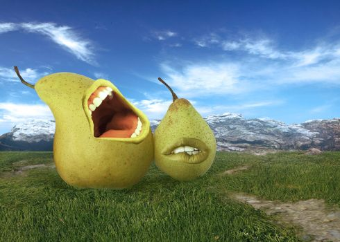 A Pair of Pears by acheronnights
