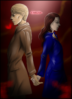 30 Day Hannibloom - 01 Holding Hands by FuriarossaAndMimma