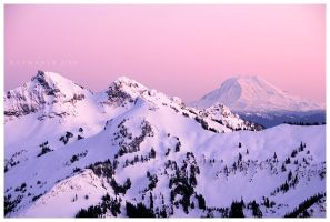 Tatoosh and Adams by Raymaker