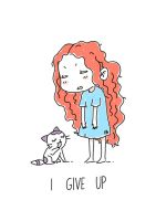 I Give Up by freeminds