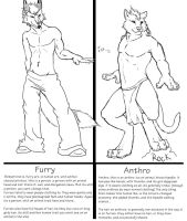 Furry/zoanthrope VS Anthro by The-Imperial-Dragon