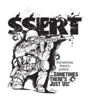 SSERT Fundraiser Shirt Back 2012 by ArtworkByDon