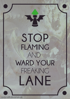 Ward Your Lane by Candy-Muffin