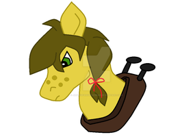 What I have so far on This Nice Looking Pony by JaggedFangsTheBear