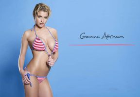 Gemma Atkinson by ArtSlash13