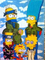 OS SIMPSONS by powre