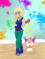 Jenny + Skitty by TrainerKelly