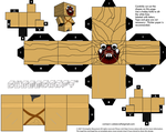 Tusken Raider cubeecraft by JagaMen