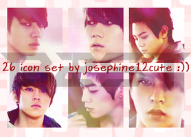 B2ST 26 Icon Set by josephine12cute