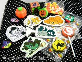 Halloween ponies goodie pack by zambicandy