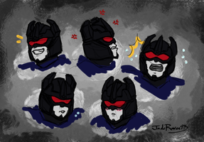 TFP - Rumble Expressions by JadeRaven93