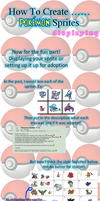 How to Create..... Pokemon Sprites ~ Displaying by TheYUO