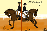 Dressage then and now by Shadoweses