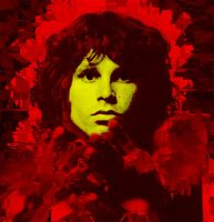 Jim Morrison Extruded by buzzeslike