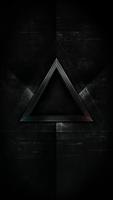 Triangle wallpaper iphone5 by OtrusEncide