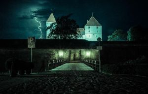Fortress of Count Dracula of Kuressaare by IdelleX