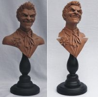 Batman Joker Bust REBOOT by AntWatkins