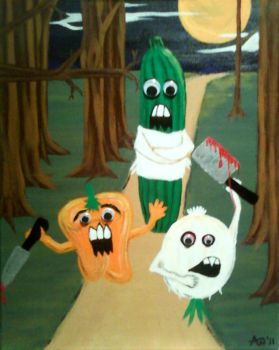 Veggie Tales of Horror by AbendrothBlutjager