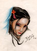 geisha 1 by blacksoulgraphics
