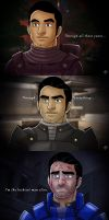 The Progression of Kaidan Alenko by Eji