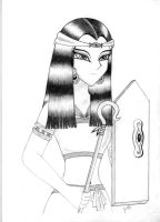 Egyptian Warrior by Rose-sary