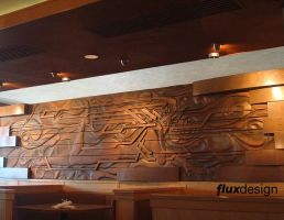 Wood relief  7 by JesseMeyer