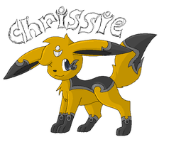 Chrissies New design by TwilightTheEevee