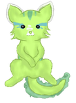 Wolly the Aquii by FloralFlower