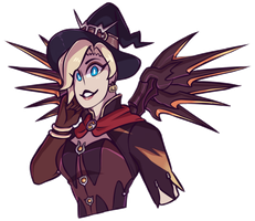 C: Witch Mercy v2 by GalacticTitty
