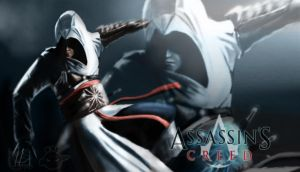 Altair - Assasins Creed Wallpaper by Kalberoos