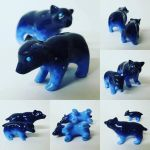 Ursa Major and Ursa Minor  - FOR SALE on Etsy by A-Girl-Named-Chester
