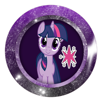 Twilight Sparkle badge by MetallicaDutch