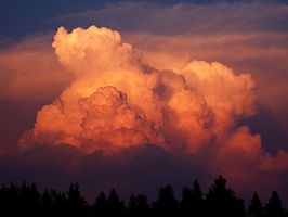 Clouds...or Explosion? by gremlinner