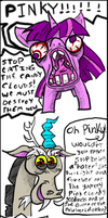 PINKY AND DISCORD COMIC by ANNUNAKI-GOD