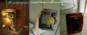 Bioshock Shortwave Radio Prop by betterDeadthanRED