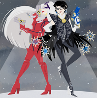 Collab: Bayonetta (ft. infobots) by Viobliterator